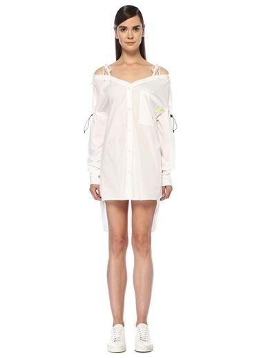 Marcelo Burlon Elbise Beyaz